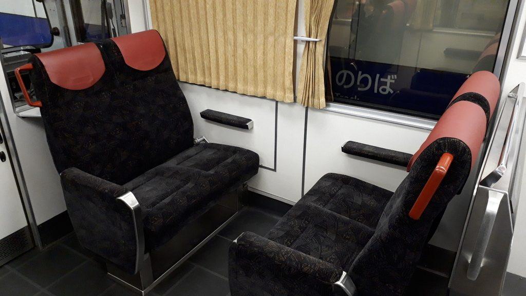 京阪特急 8000系 一般車両 座席