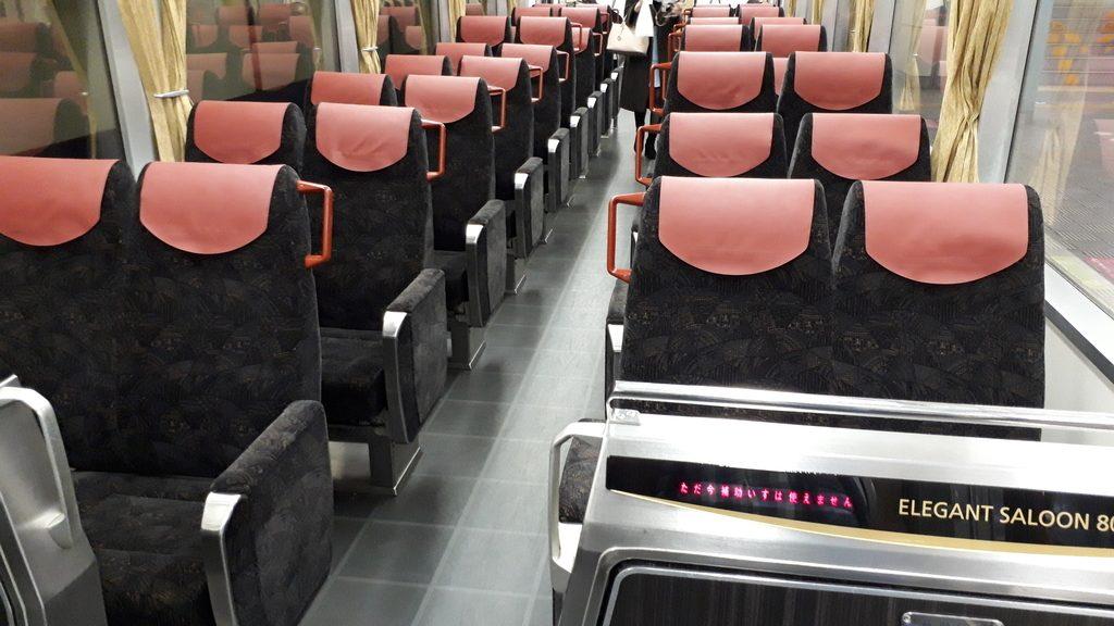 京阪特急 8000系 一般車両 車内