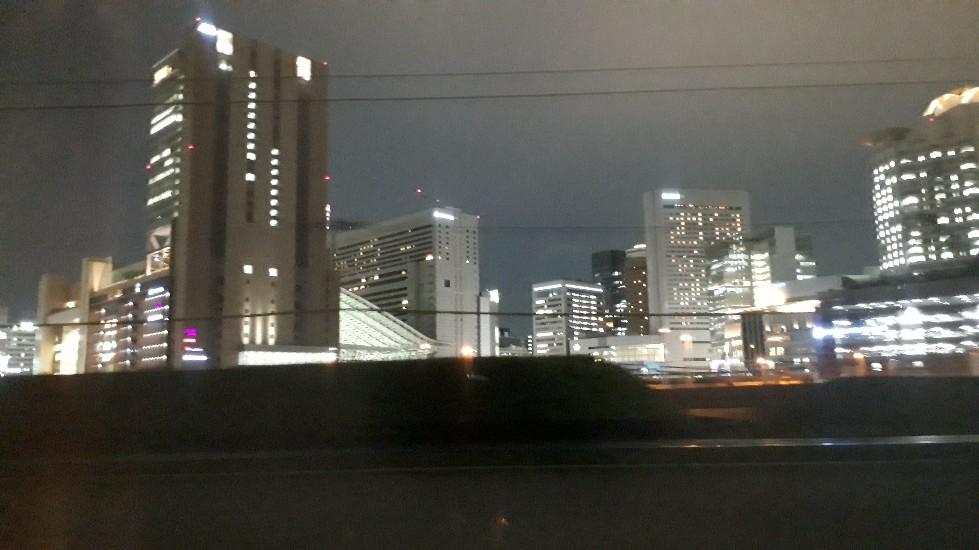 特急くろしお 車窓 梅田 大阪駅