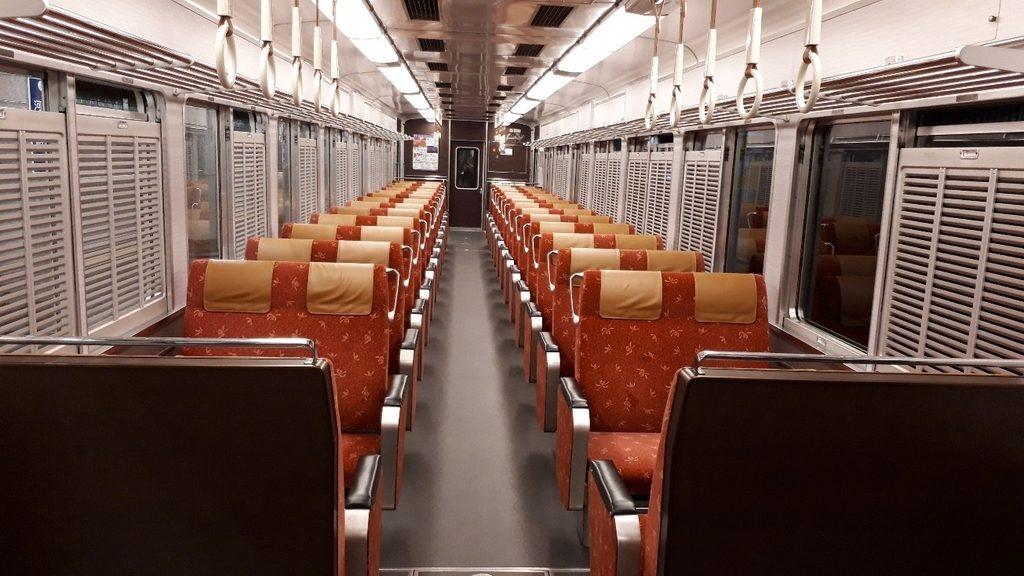 阪急 京とれいん 6300系 1号車 2号車 車内