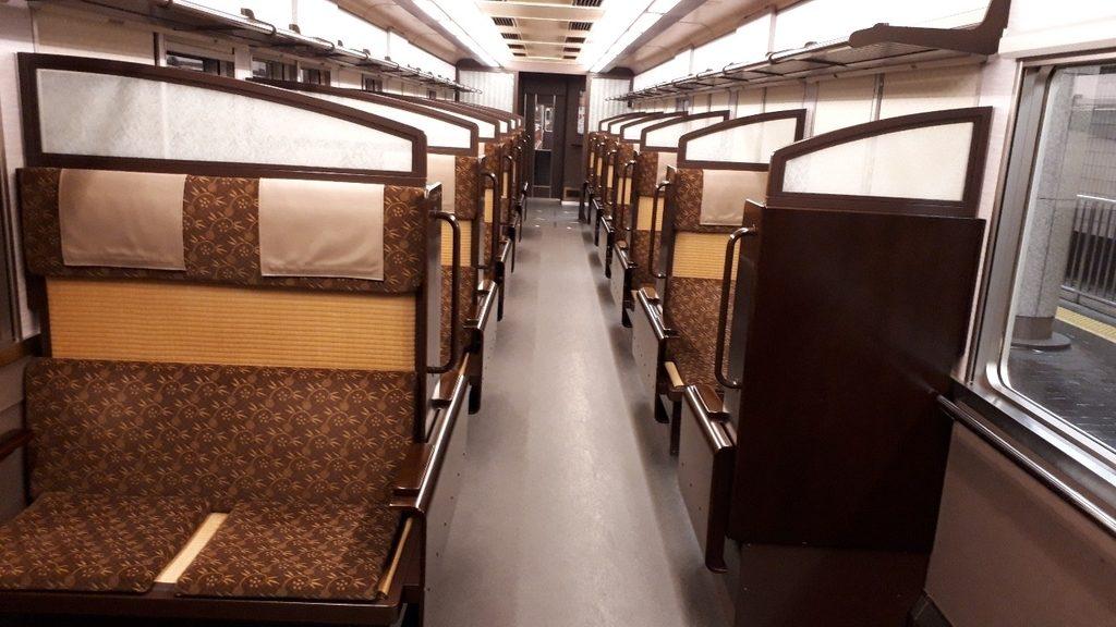 阪急 京とれいん 6300系 3号車 4号車 車内