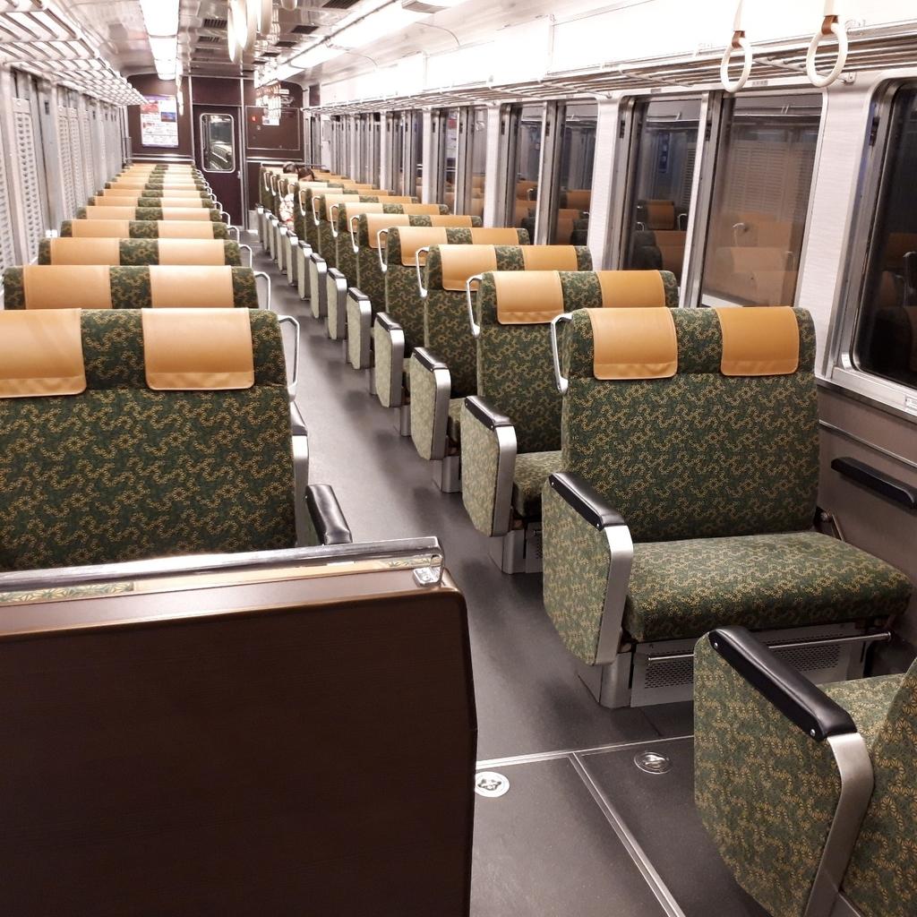阪急 京とれいん 6300系 5号車 6号車 車内