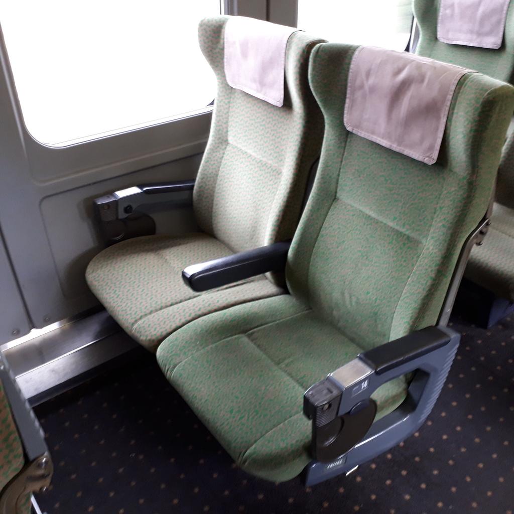 特急にちりん 787系 普通車 自由席 座席