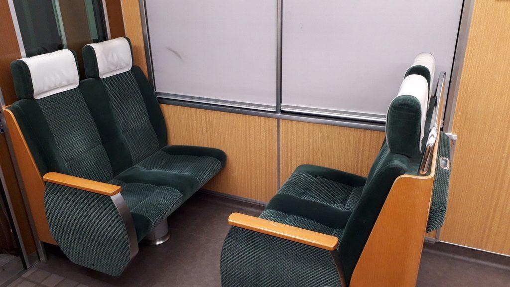 阪急京都線特急 9300系 座席