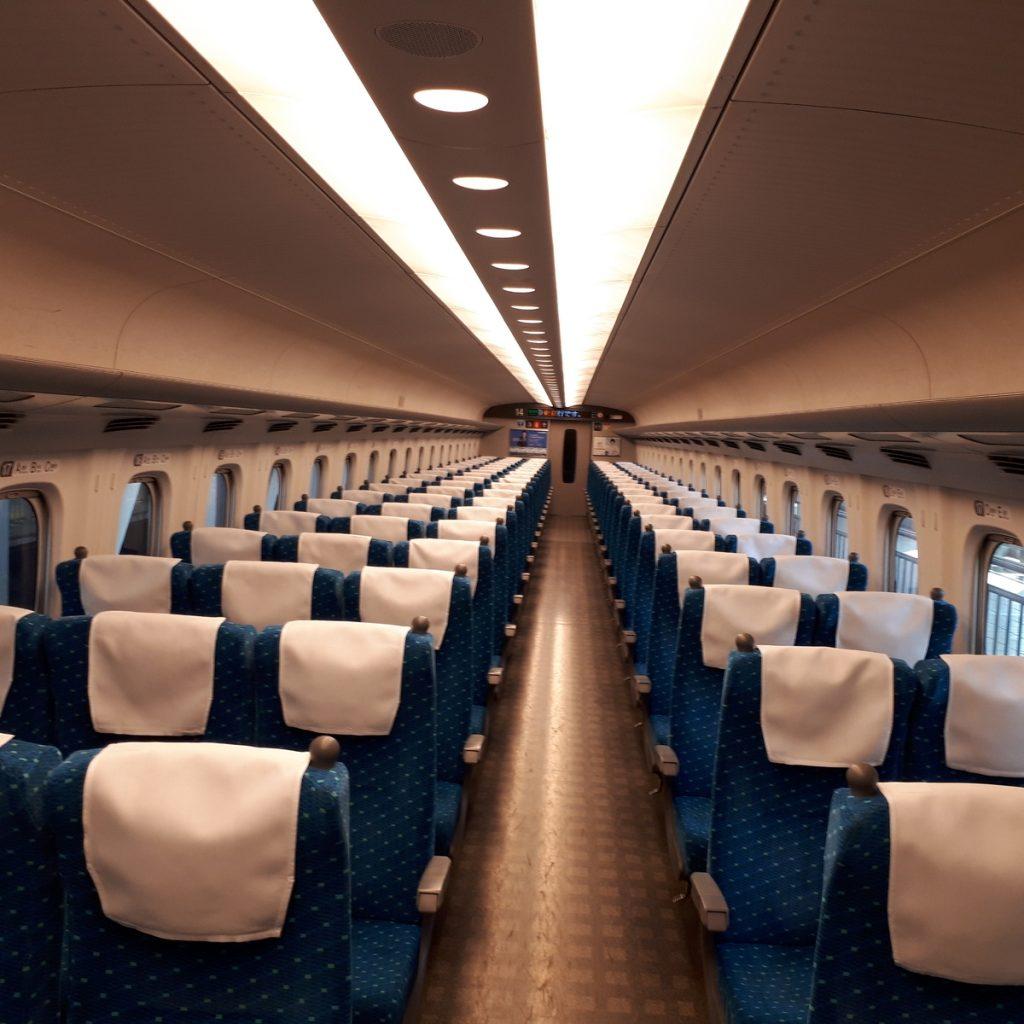 新幹線N700系 のぞみ 普通車 車内