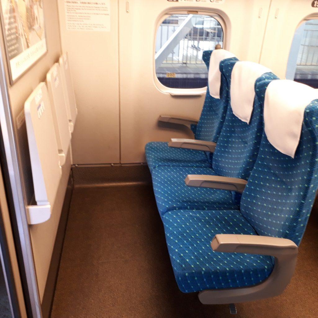 新幹線N700系 のぞみ 普通車 座席