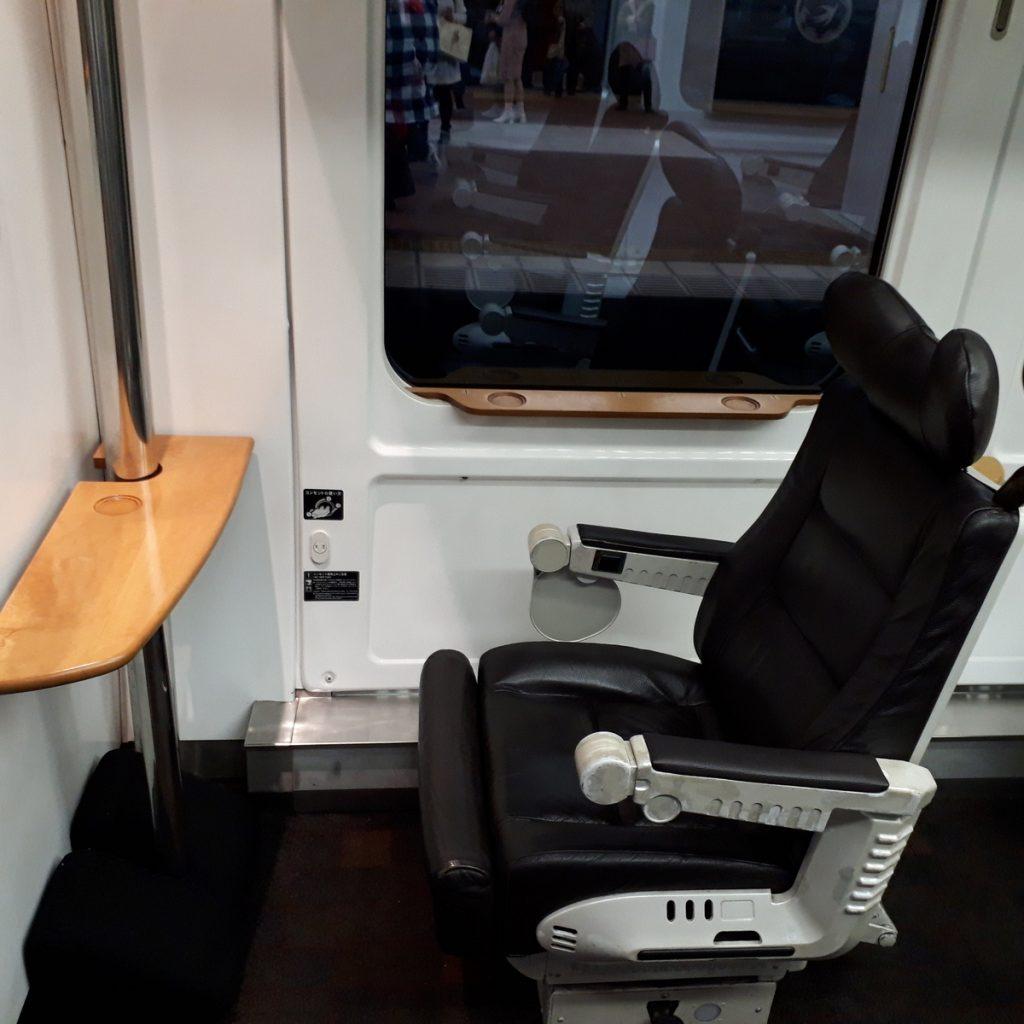 特急ソニック 883系 グリーン車 座席