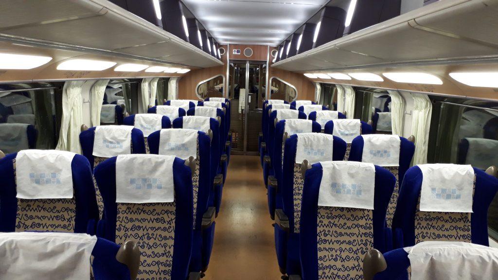 近鉄 ビスタカー 30000系 中間車 2階建て車両 2階席