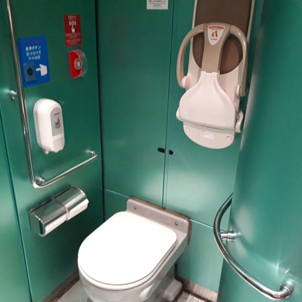 特急きりしま 787系 多目的お手洗い 多目的トイレ
