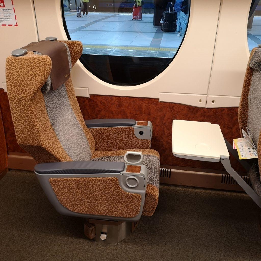 南海 空港特急 ラピート 50000系 スーパーシート 座席