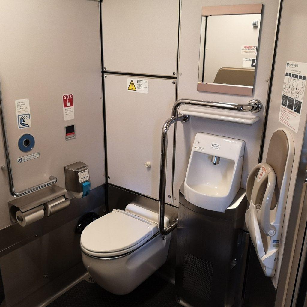 特急こうのとり 287系 多目的お手洗い 多目的トイレ