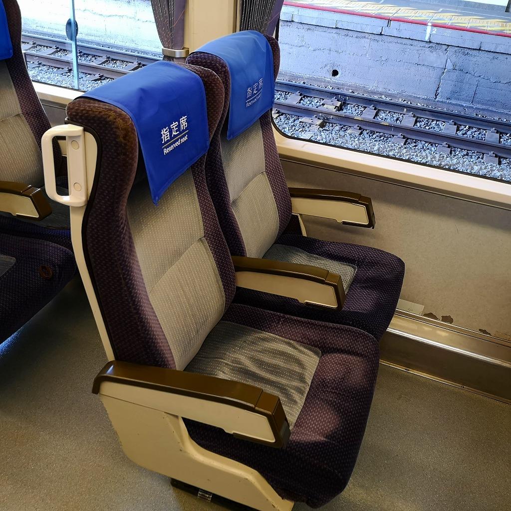 特急南風2000系 座席
