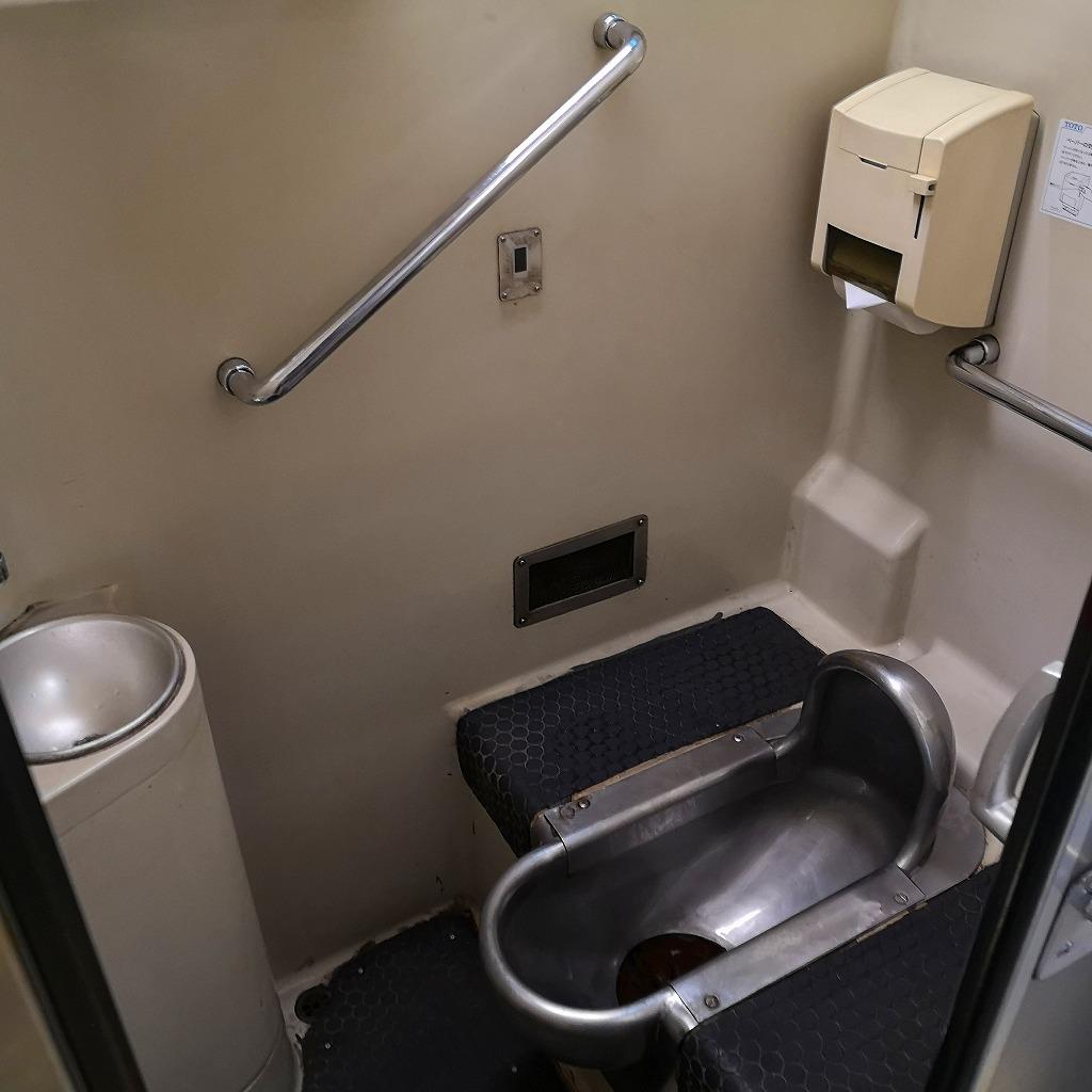 特急南風 2000系 お手洗い トイレ