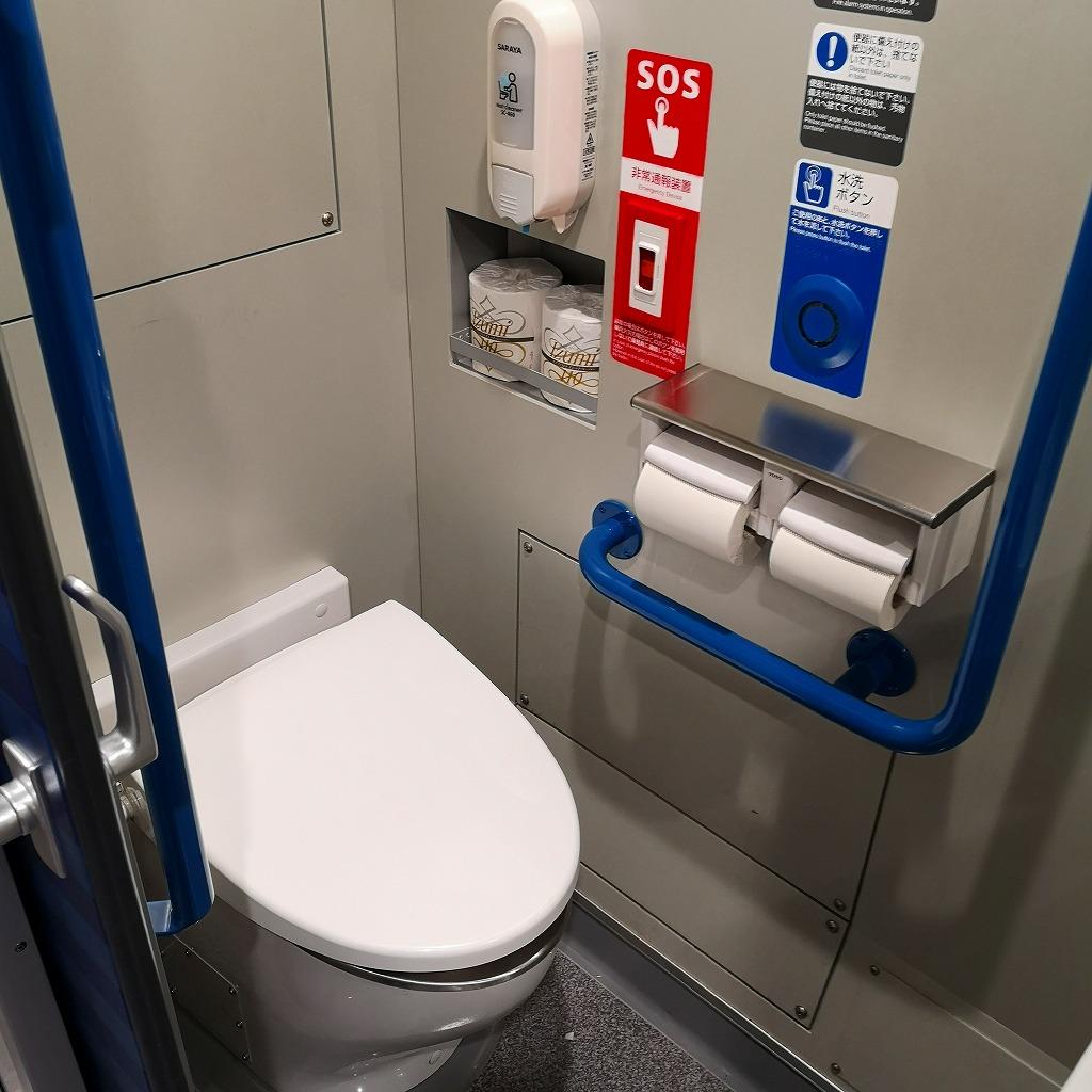 特急南風 2700系 お手洗い トイレ