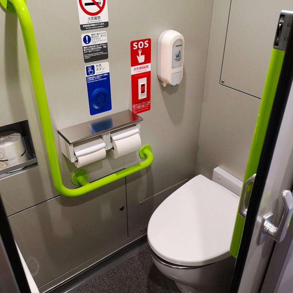 特急しおかぜ 8600系 お手洗い トイレ