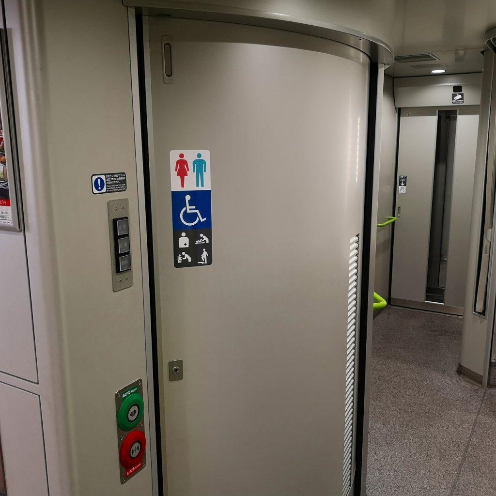 特急しおかぜ 8600系 多目的お手洗い 多目的トイレ