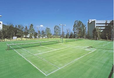 ウェスティンホテル淡路 スパ フィットネス リストーロ テニスコート