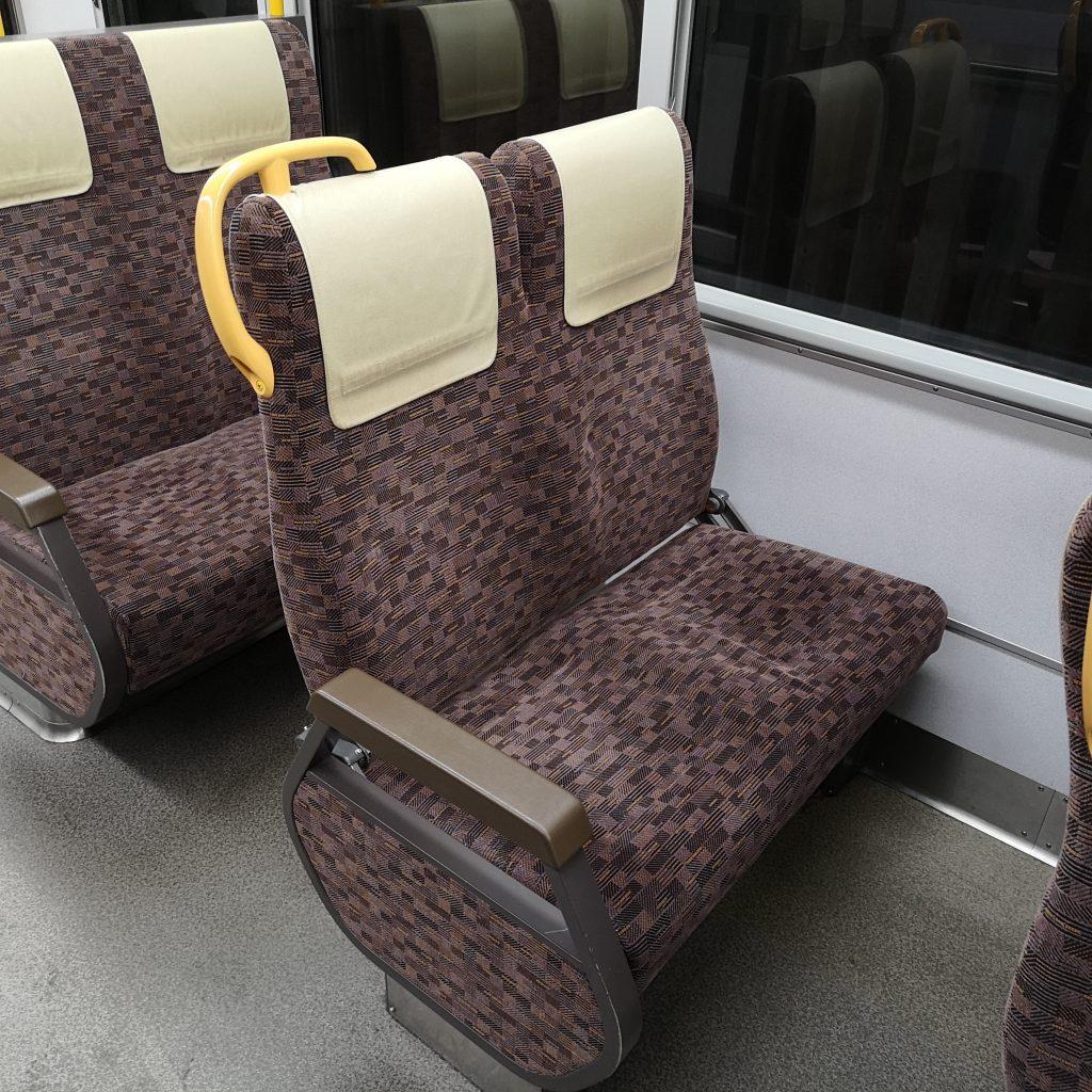 大和路快速 221系 座席