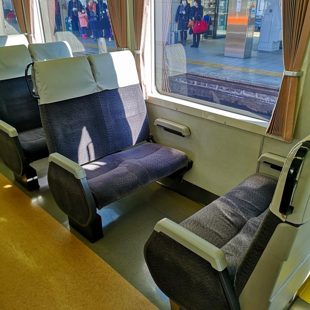 快速みえ キハ75形 自由席座席3