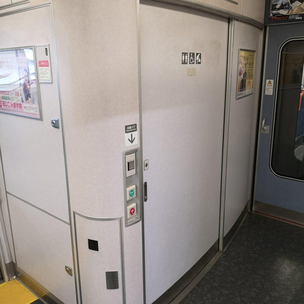 JR東海 新快速 快速 313系 お手洗い