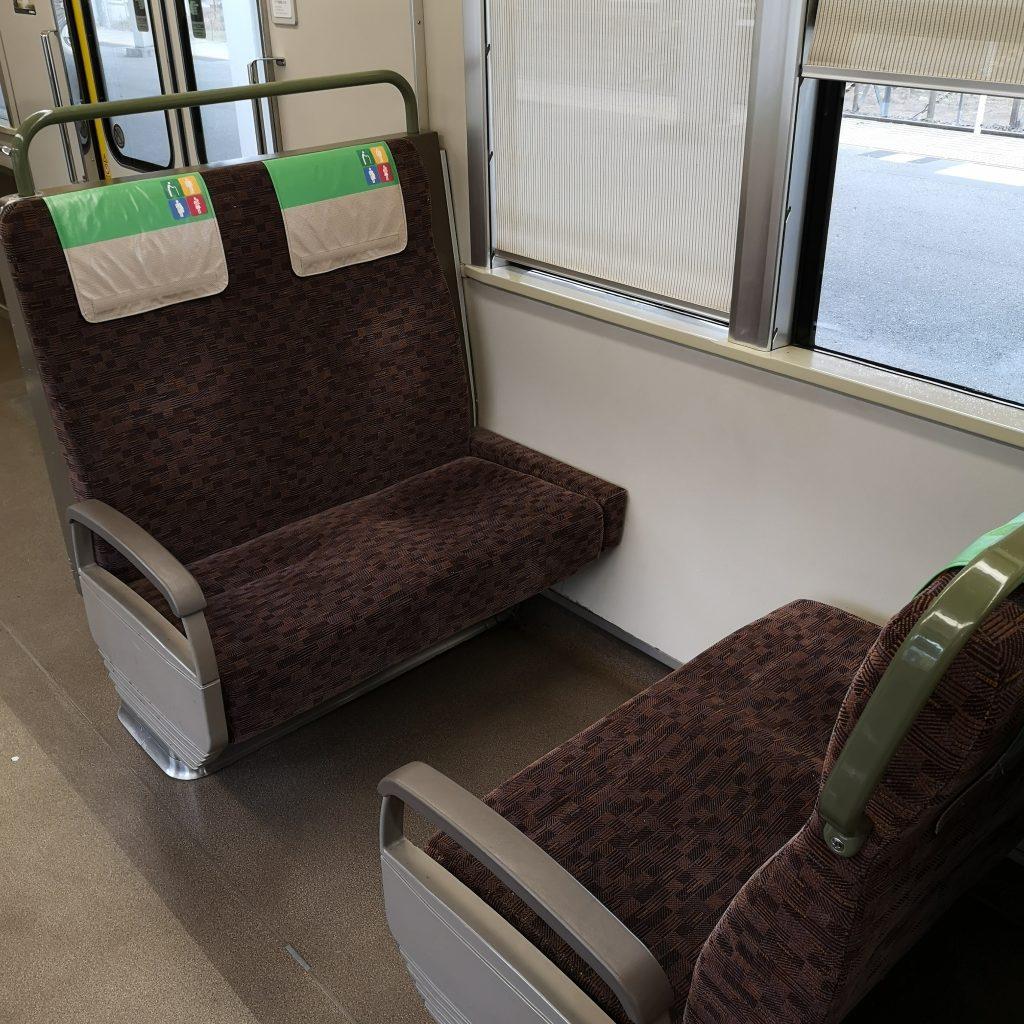 JR西日本 新快速 223系 優先座席