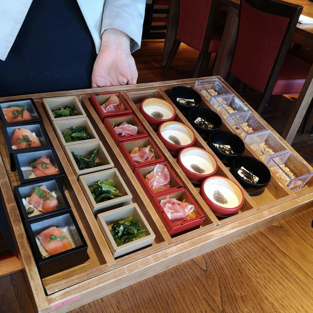 翠嵐ラグジュアリーコレクションホテル京都 京 翠嵐 朝食 前菜