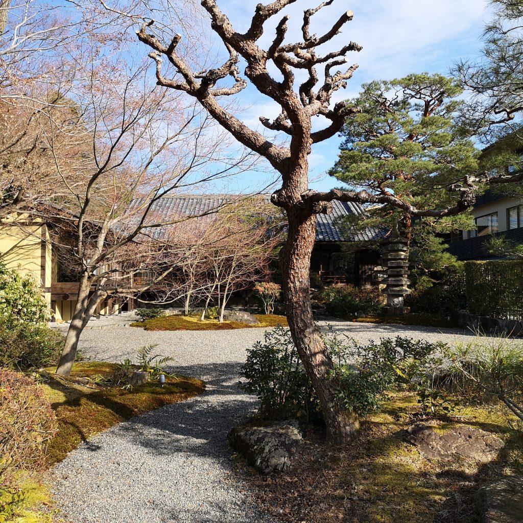 翠嵐ラグジュアリーコレクションホテル京都 庭園