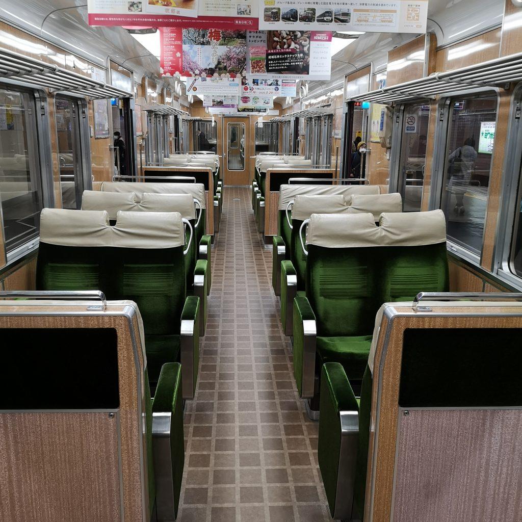 阪急神戸線特急 8000系 クロスシート