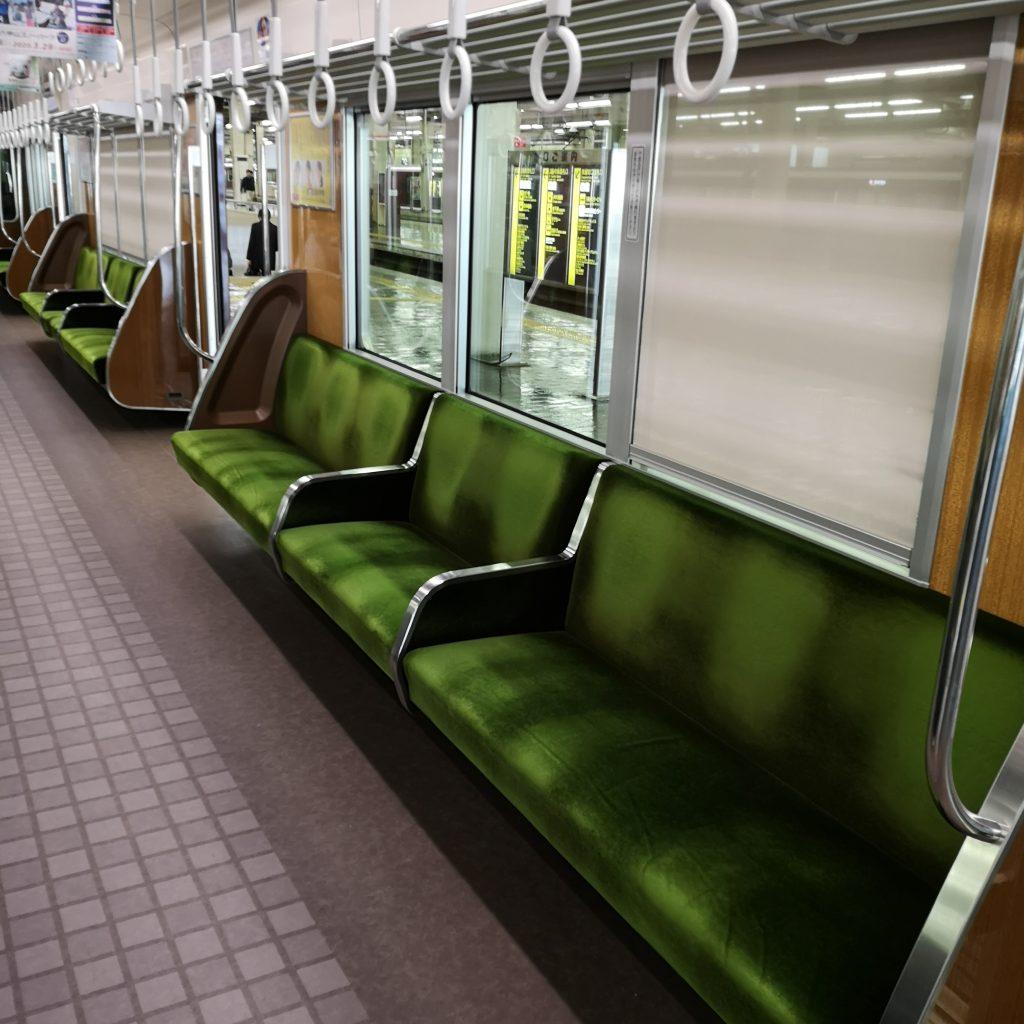 阪急宝塚線急行 車内