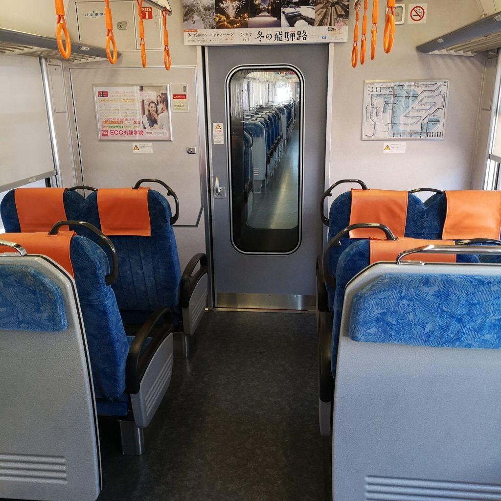 JR東海 新快速 快速 313系 優先座席