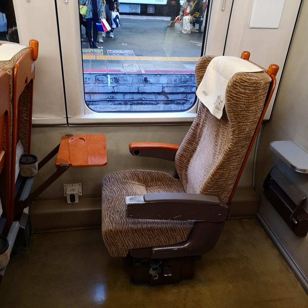 特急スーパーはくと HOT7000系 普通車 自由席 指定席 座席
