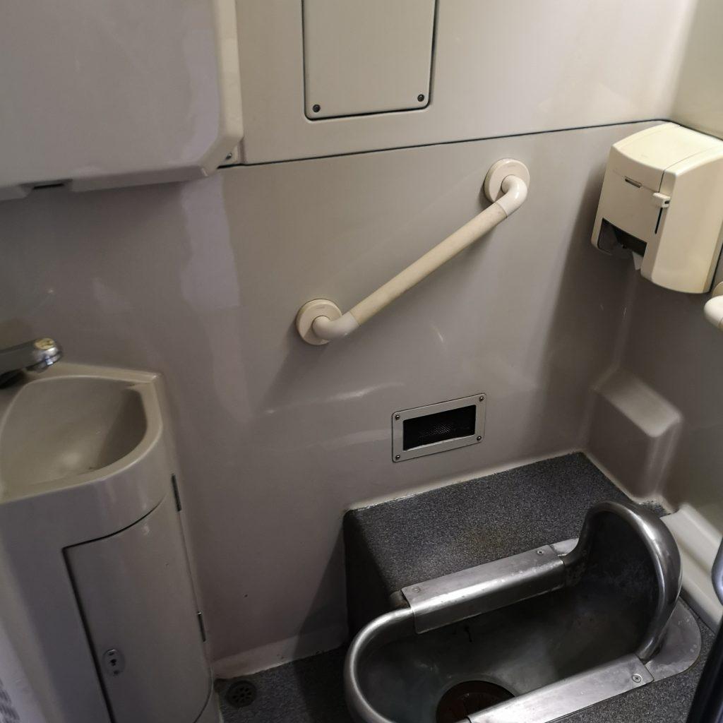特急 いしづち 8000系 お手洗い