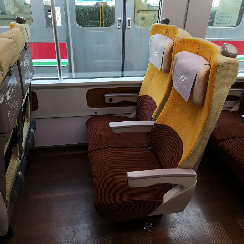 特急 いしづち 8600系 普通車 自由席 指定席