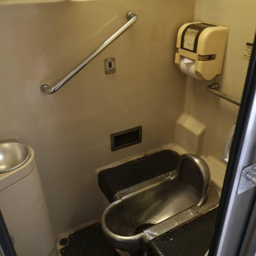特急しまんと 2000系 お手洗い トイレ