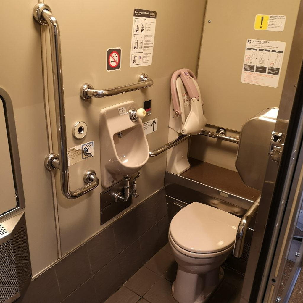 特急しらさぎ 681系 多目的お手洗い