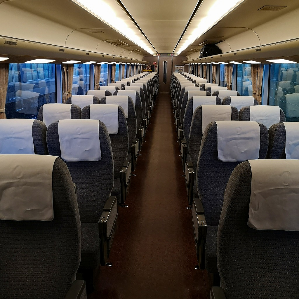 特急しらさぎ 681系 普通車 指定席 自由席
