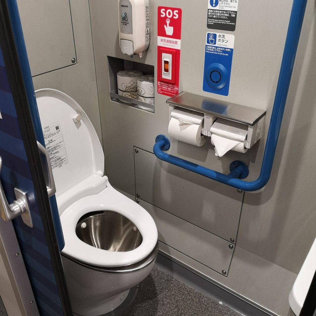 特急うずしお 2700系 多目的お手洗い 多目的トイレ