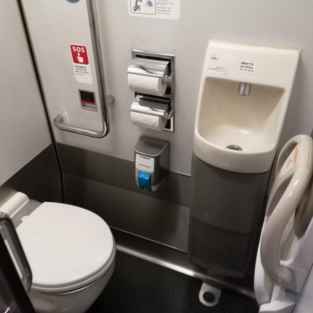 特急はまかぜ キハ189系 お手洗い