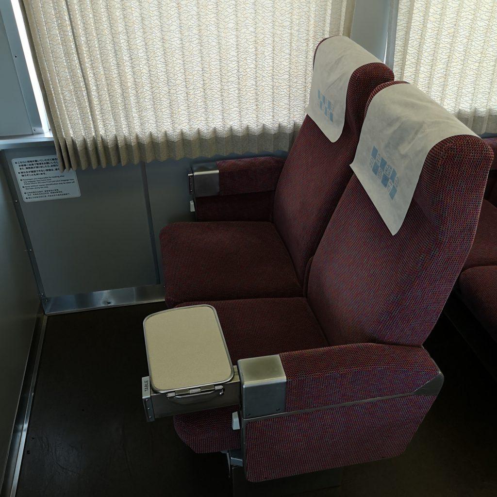 近鉄 阪伊特急 12410系 座席