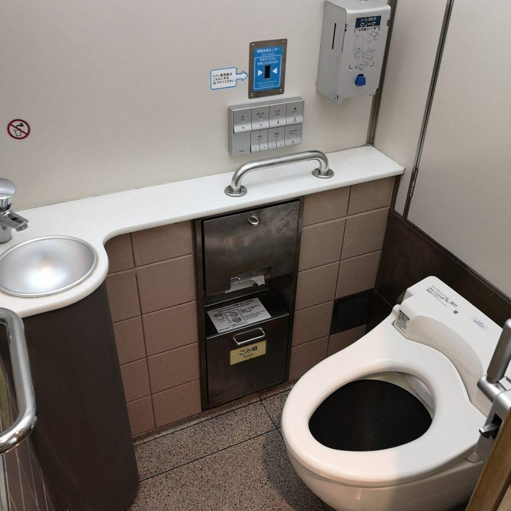 近鉄 名伊特急 22600系 お手洗い トイレ
