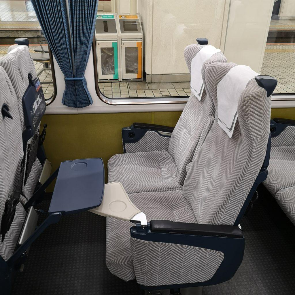 近鉄 京都線 橿原線 特急 22000系 座席