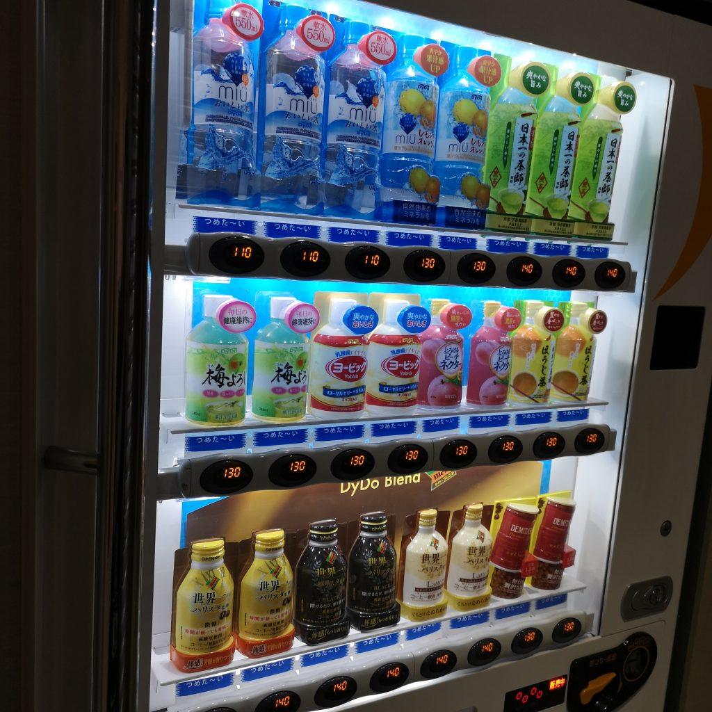 近鉄 京都線 橿原線 特急 22000系 自動販売機