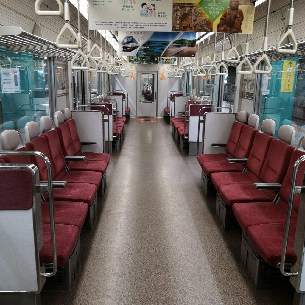 近鉄京都線急行 5820系 車内