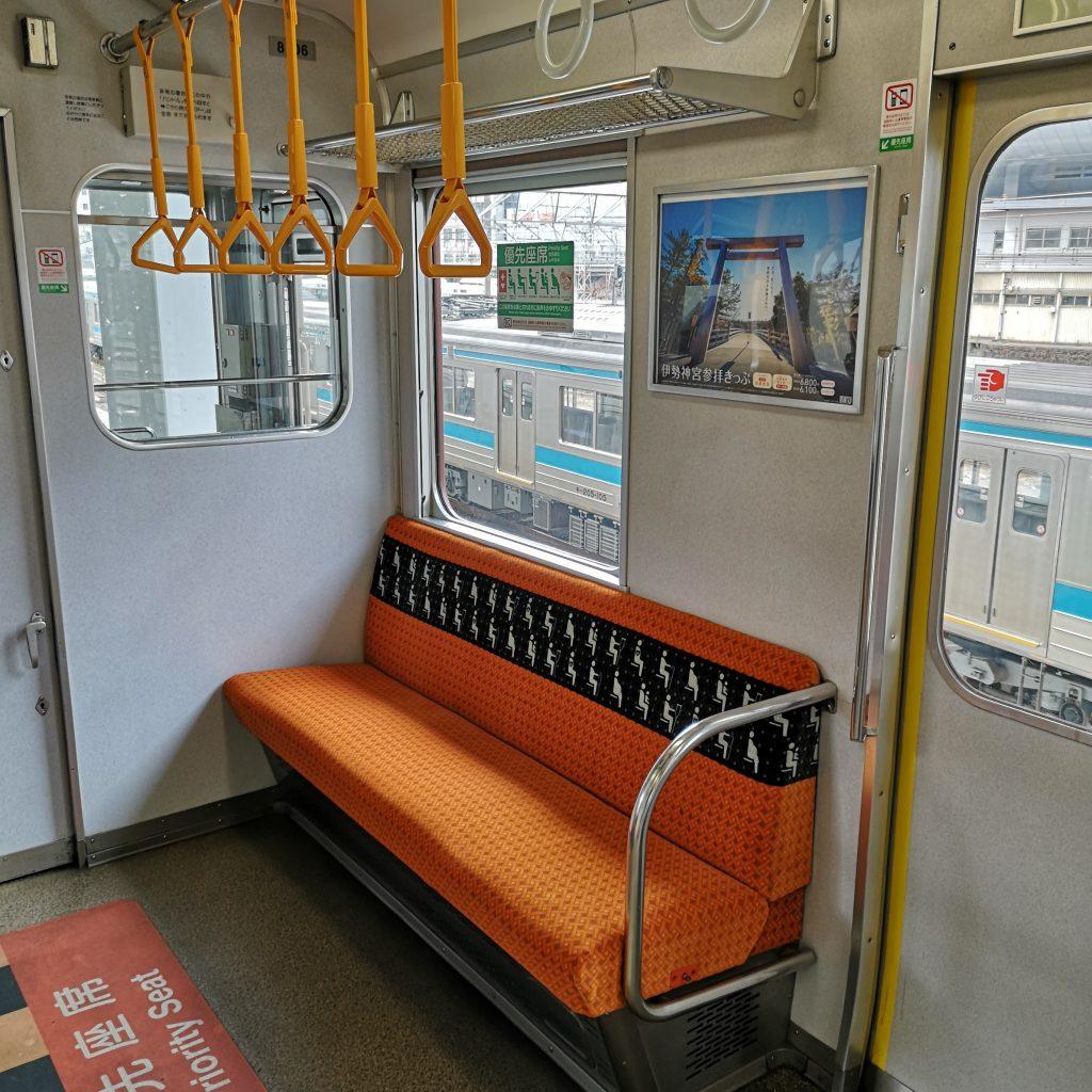 近鉄8000系 優先座席