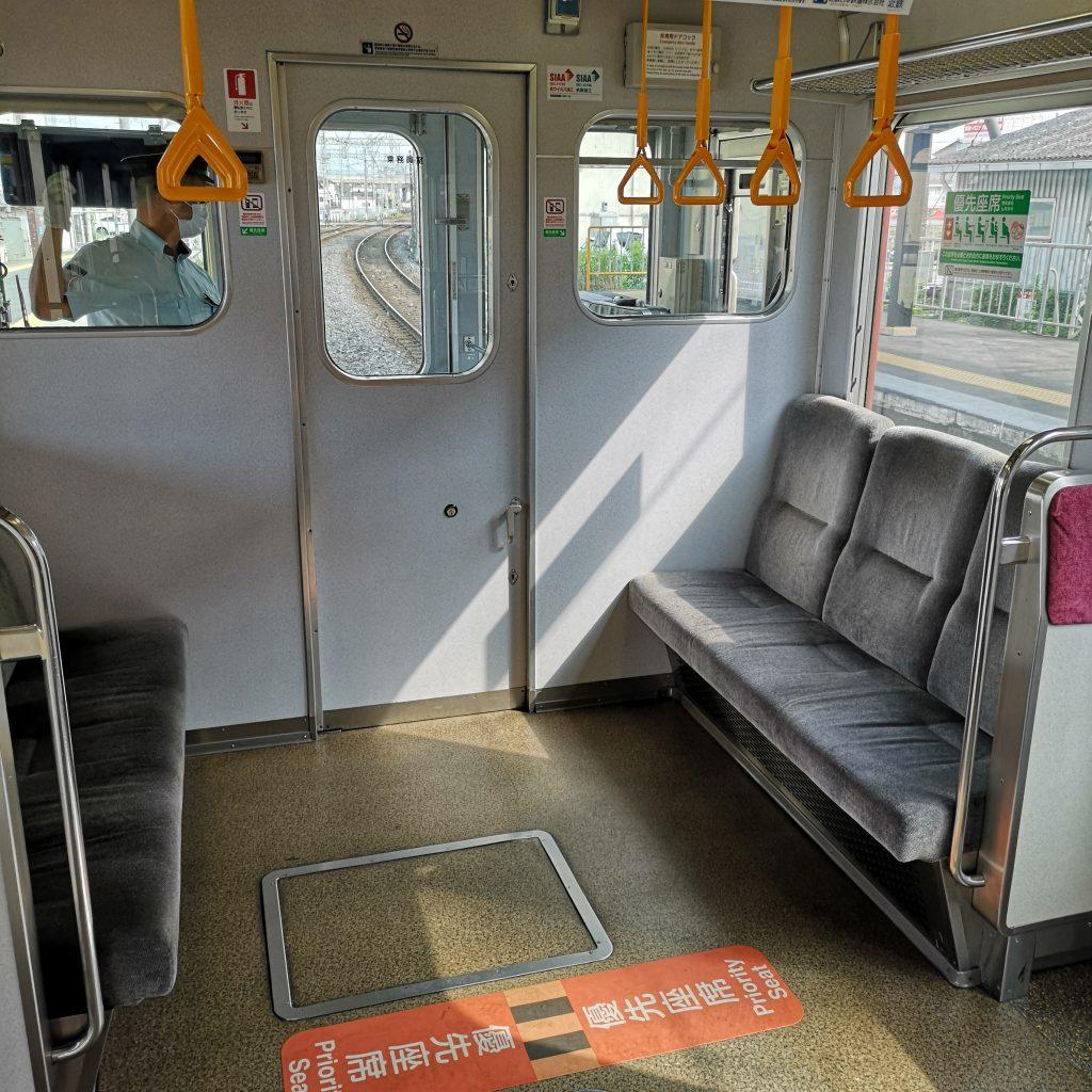 近鉄名古屋線急行 2610系 優先座席