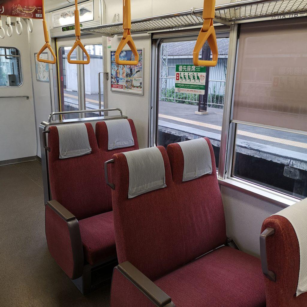 近鉄名古屋線急行 5200系 優先座席