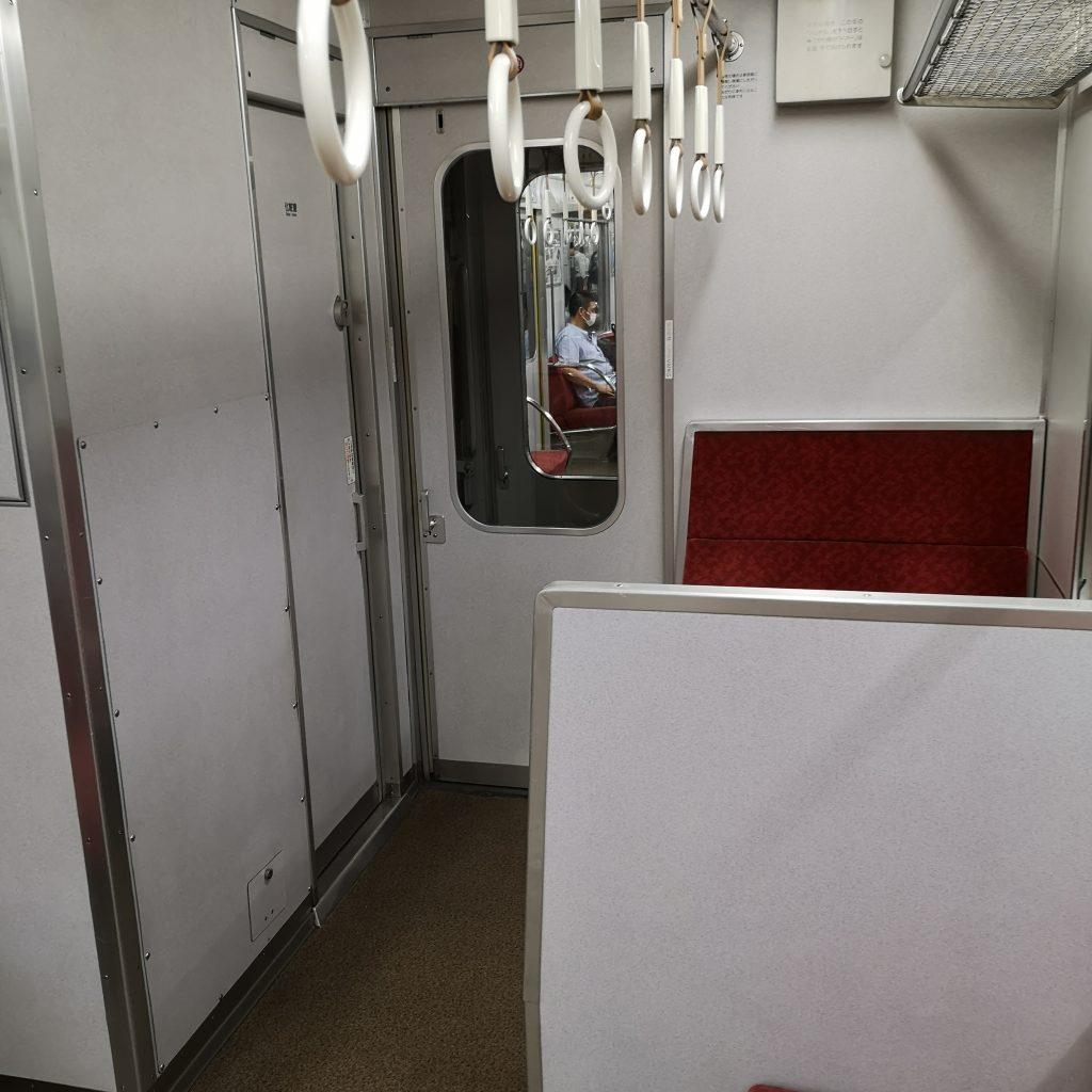 近鉄 大阪線急行 2610系 お手洗い トイレ