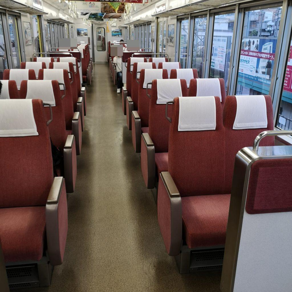 近鉄大阪線急行 5200系 車内