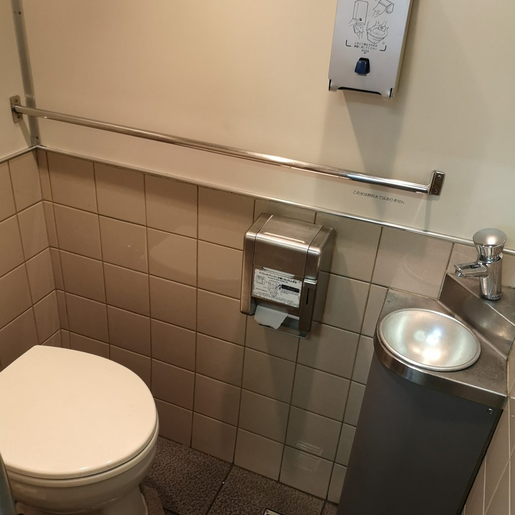 近鉄 大阪線急行 5200系 お手洗い トイレ