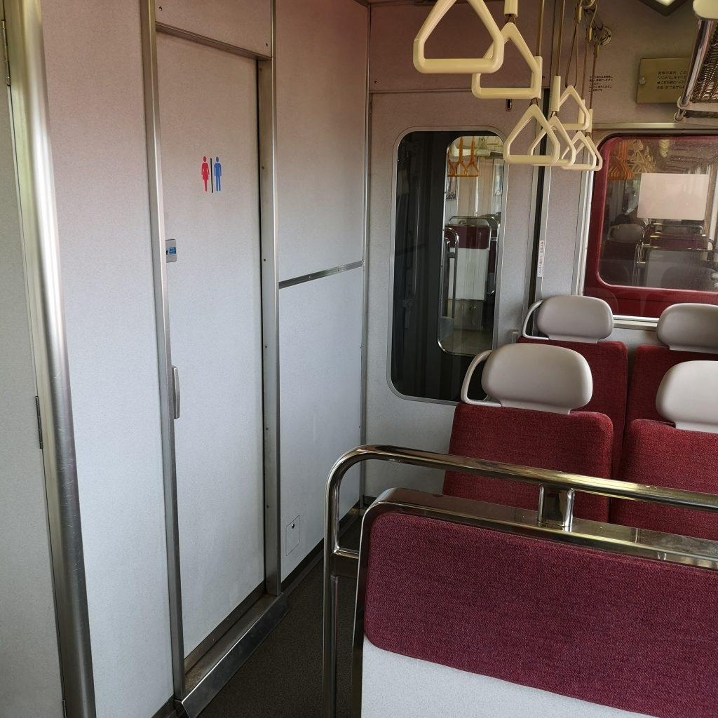 近鉄 大阪線急行 5800系 お手洗い トイレ